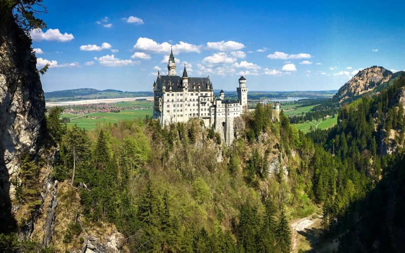 Neuschwanstein Castle (please note this view may not be possible in wintertime)