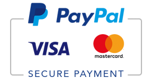 Paypal Visa Mastercard Secure Payment