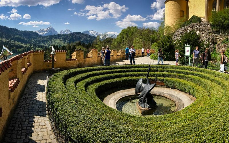 Grounds of Hohenschwangau Castle