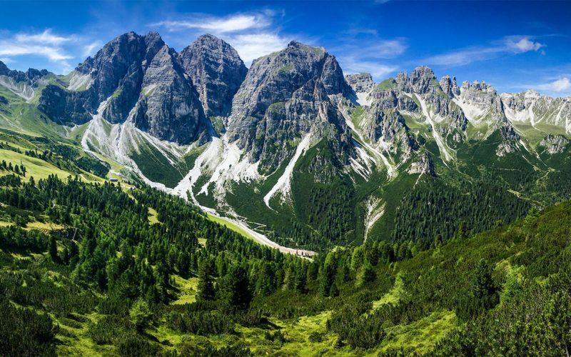 Taken from near the alpine hut option