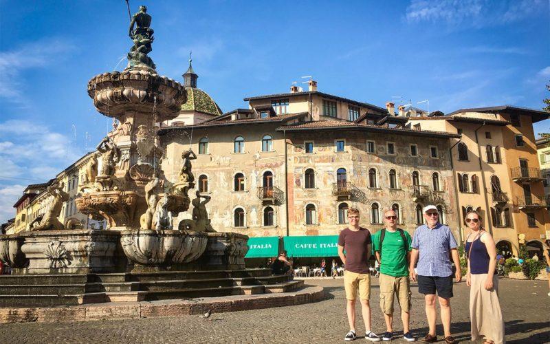 Trento town square