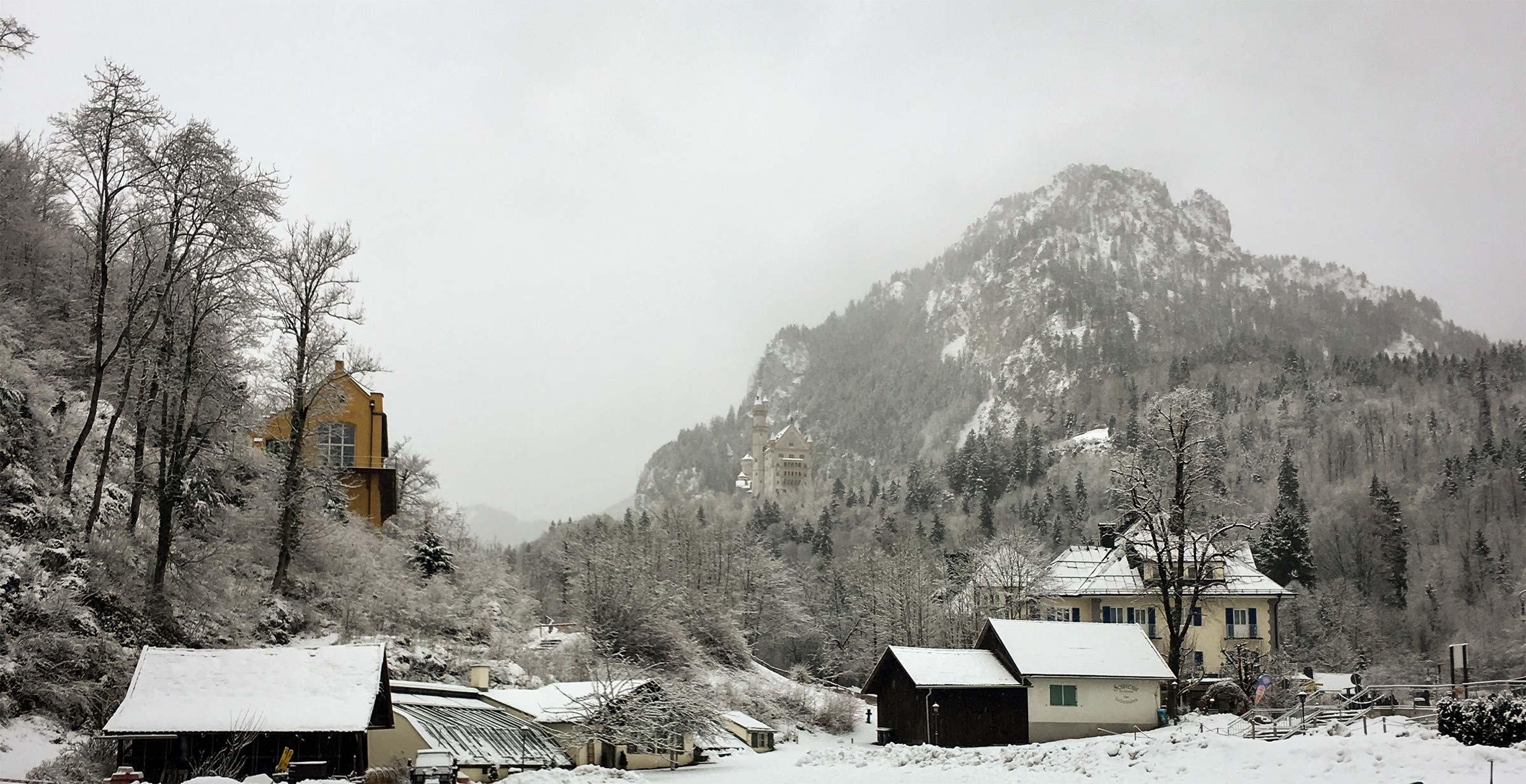 Neuschwanstein Snow