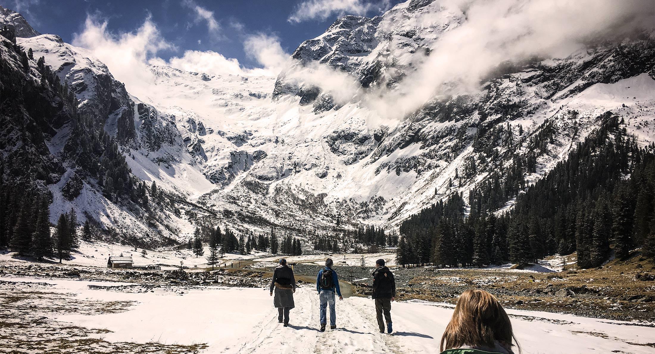 Innsbruck Surrounds Snow