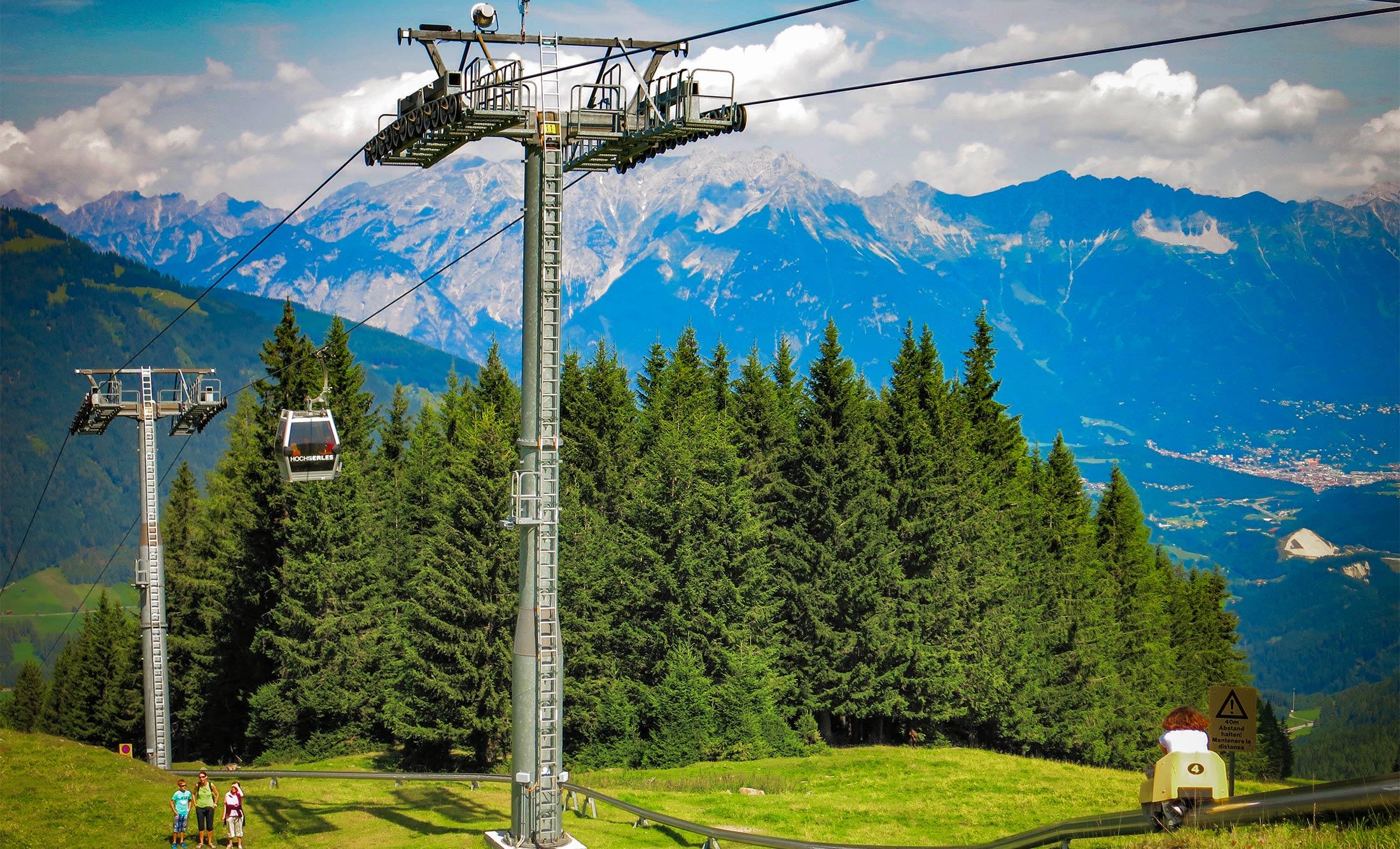 Innsbruck Surrounds Rodelbahn