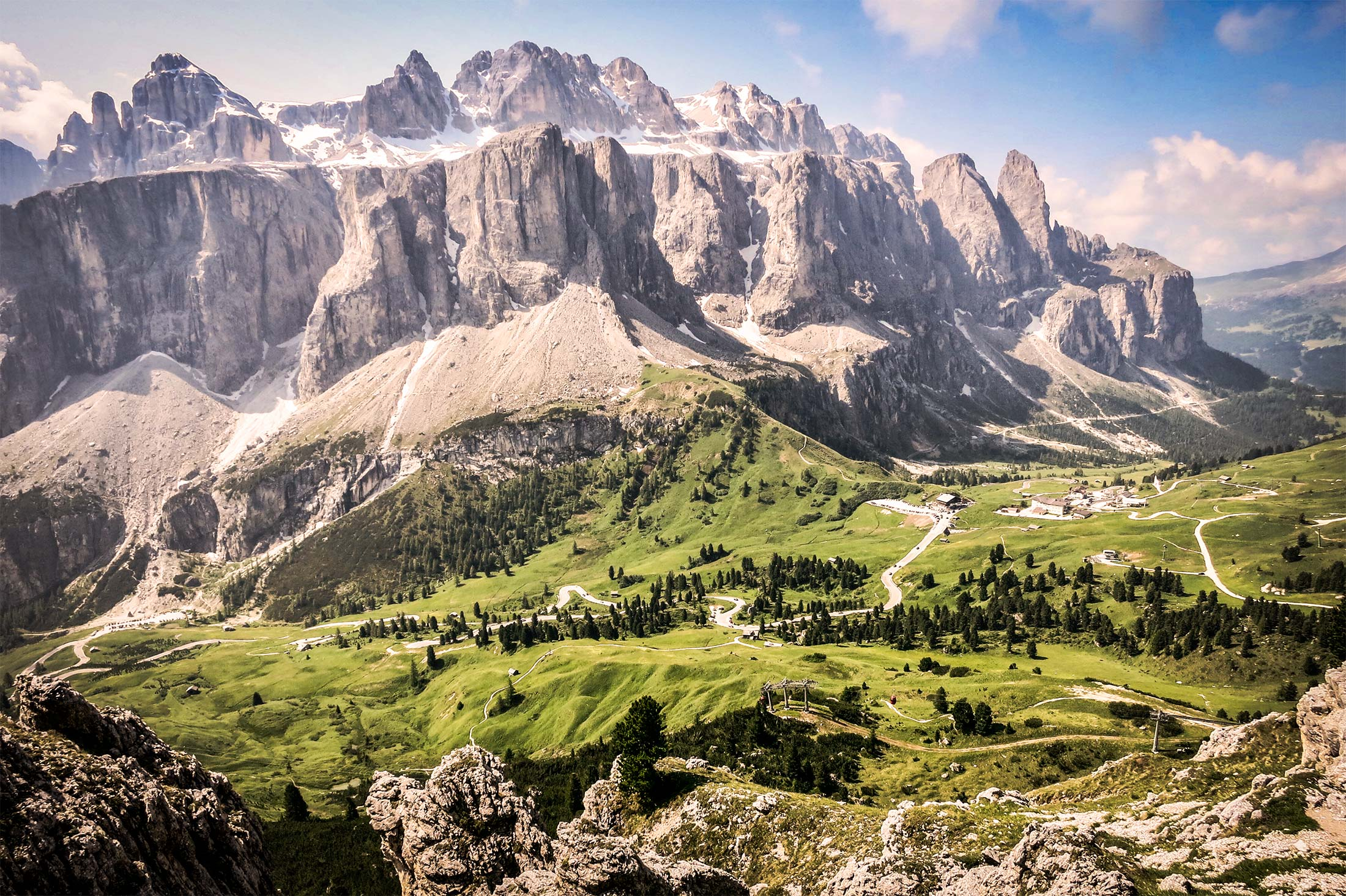 Dolomites Mountain 1