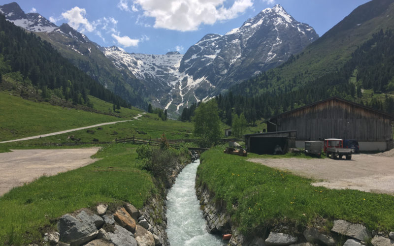 Amazing Lüsens Valley