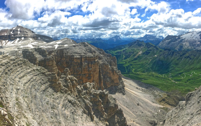 Terrace of the Dolomites